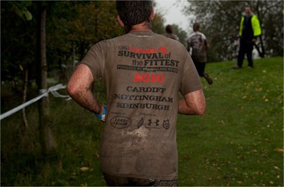 The London race is going to be muddy!