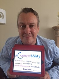 Stephen Tompkinson is in support
