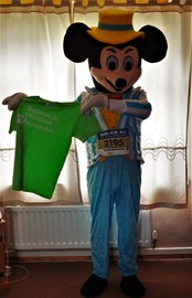 Mickey Mouse costume for the Hull 10k!