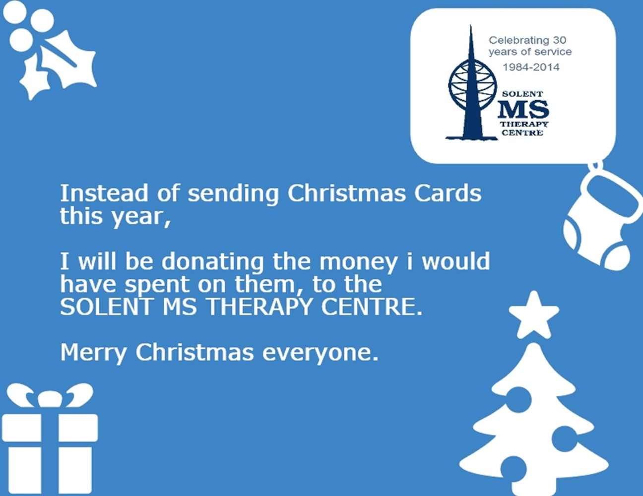 Solent Ms Therapy Centre Christmas Appeal Justgiving