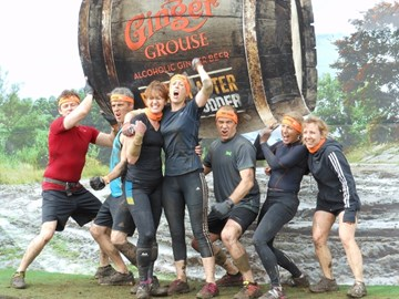 Team All Star Mudders - at the end!!!