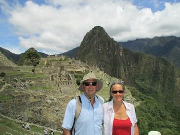 M & N send a thankyou from Machu Picchu