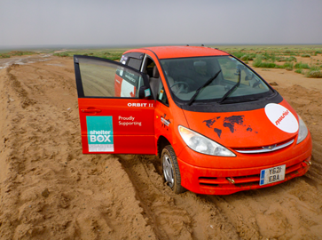 Crossing the Gobi Desert for ShelterBox!