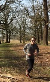Training hard in Richmond Park