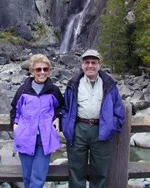 Mom and Dad at Yosemite