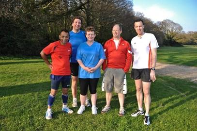 The Cancer Marathon Team