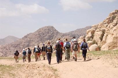 Trekking to Jordan