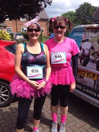 Me, after last years Race for Life