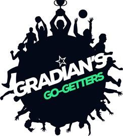 Gradian's fundraising team logo