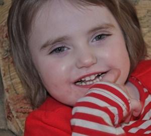 Lilliana aged 4