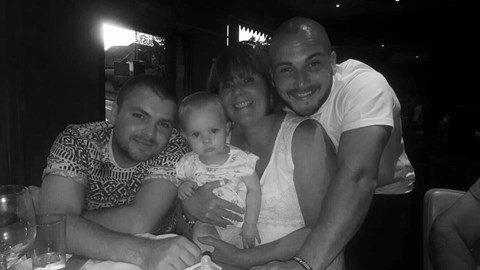 Brother , Mother, Neice & George x