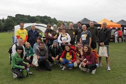 Tim's Team - after the run