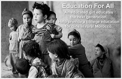 Girls educate the next generation
