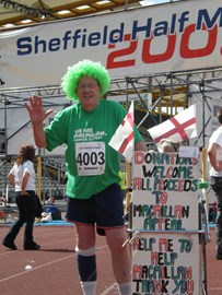 me at sheffield half 2009