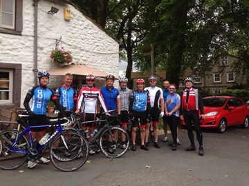 Training in the Yorkshire Dales!