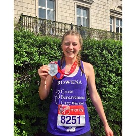 Rowena - London Marathon 2018