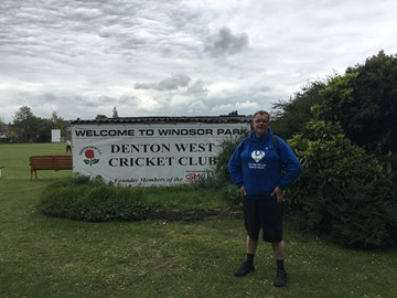 Walk 3 complete. Arrived at Denton West in good time
