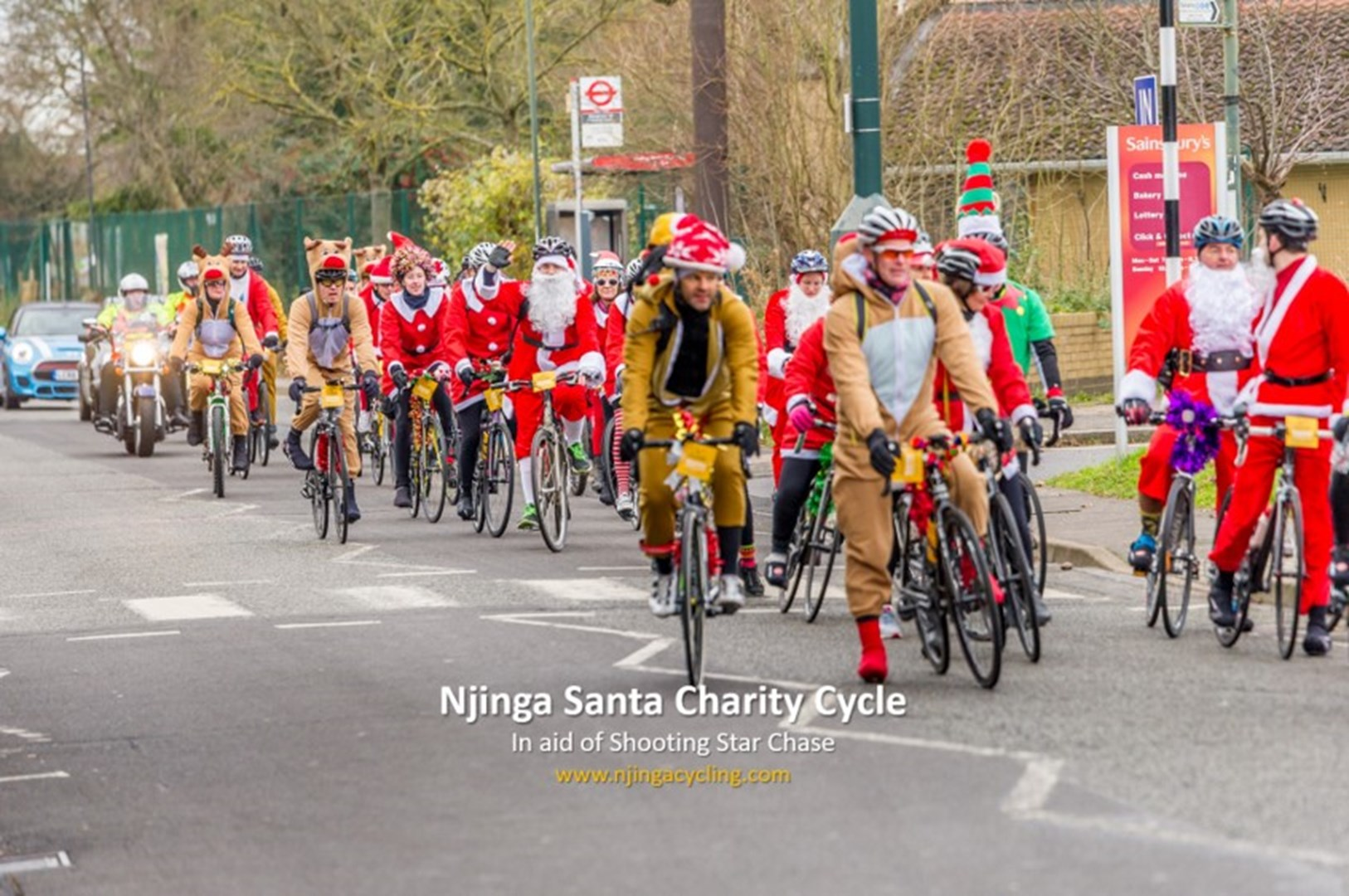 Njinga Cycling is fundraising for Shooting Star Chase 8f178dae7