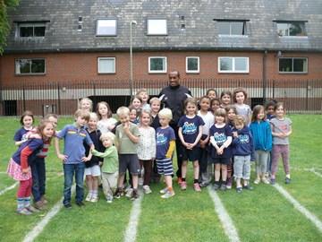 Edao training children at St Barnabas
