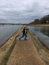 Walk #1 on the Hamble River