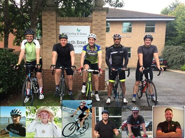Charity Riders Confirmed for RVS