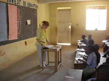 Teaching in Rukungiri Modern Primary