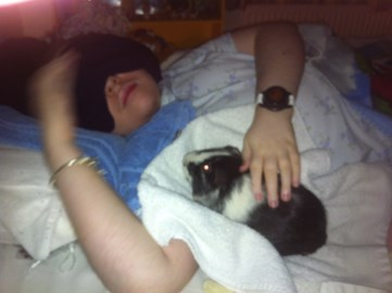 Ros's Guess the Weight of my Guinea Pig!