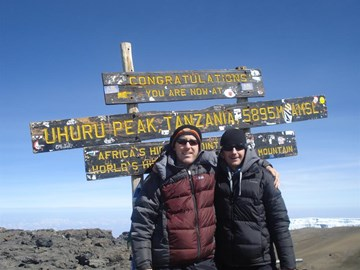 The Summit of Mount Kilimanjaro