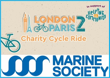 London 2 Paris to support the Marine Society