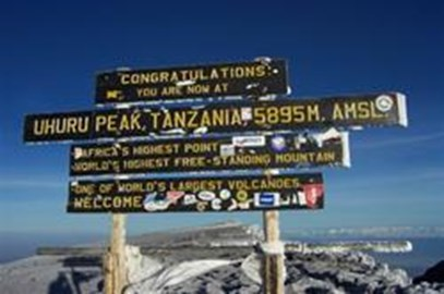 The Greatest Climb; Kilimanjaro Jan.2012
