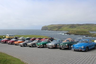 Club members on the Isle of Man where we raised £250.