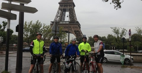 The team after we'd completed last years journey!