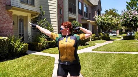 The Team Loki Cycling jersey!