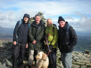 Coniston Old Man with the Team