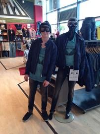 Mannequin challenge - which one is Brandon?
