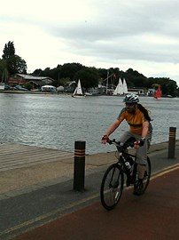 Cycling near Kingston