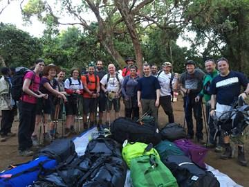 Day 2 Big Tree camp to Shira