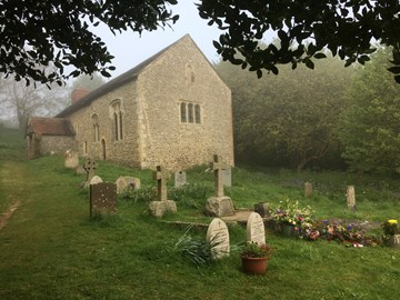 Coombes Church on April 29th