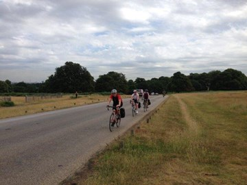 Day 1 in the saddle though Richmond Park