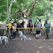 The launch of a renovated route in Weald Country Park, Essex
