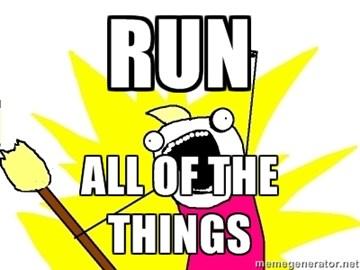 How I feel after a good run!