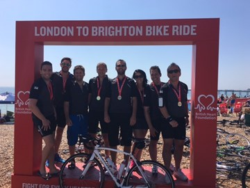 Team NLP post-ride!