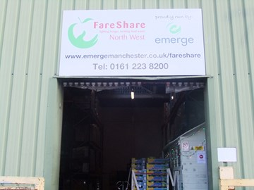What an experience visiting the FareShare warehouse today in Manchester.  Thanks to the team for showing me around!