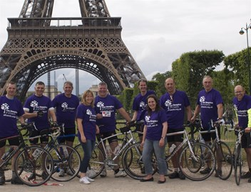 The team at Eiffel Tower