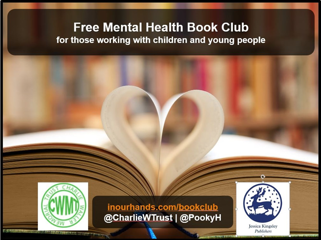 CWMT Mental Health Book Club - JustGiving