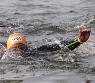 Eyes on the Prize River Thames Swim 2014