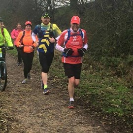 Running The Tissington Trail - training for the Millennium Way