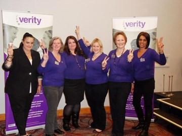 the Verity trustee team and volunteers