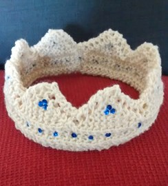 My homemade tiara!