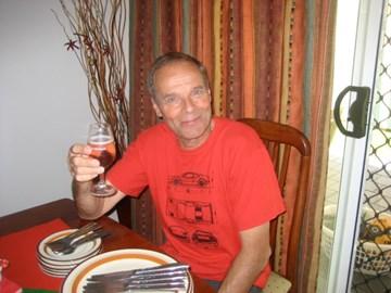 Steve Locke, a great happy gentleman